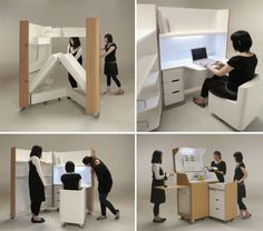 folding furniture, space saving pieces!