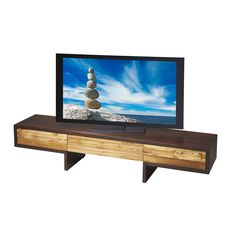 Recycled Wood Tv Console