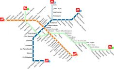 How to Use the Rome Metro (Subway) System - An American in Rome