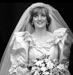 Princess Diana, look at the wonder in her eyes.  So young and so naive.