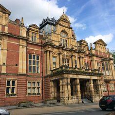 Town Hall In Leamington Spa, England. An architectural hidden gem
