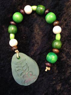 Green Prayer/Meditation Beads by CraftyOlBats on Etsy