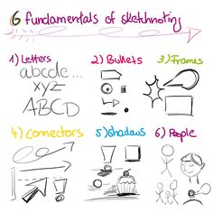 how to sketch note