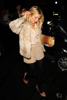 Sienna Miller- super cute outfit