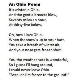 Ohio winter poem