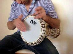 ArabInstruments.com - Darbuka Lesson 1 - Belly Dance Music - Darbuka Sol...