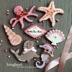 Under the Sea Cookies // Icingland