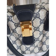 Patent leather handbag Gucci Blue in Patent leather - 5235894 Patent Leather Handbags, Gucci Handbags, Gucci Travel Bag, Vintage Gucci, Blue Fashion, Luxury Consignment, Stuff To Buy, Women, Style