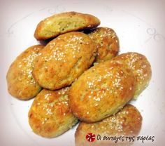 Mini feta cheese pies made with yogurt Greek Cooking, Cooking Time, Cooking Recipes, All U Can Eat, Greek Appetizers, Savoury Baking, Greek Recipes, Different Recipes, International Recipes