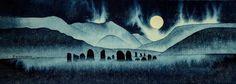 3rd Full Moon of Winter Elder Mountain Dreaming, Sacred Art, Folk Healing, Myths & Magic and more.