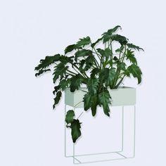 Ferm Living plant box grey # 3217 plantenbak in het  grijs bij emma b