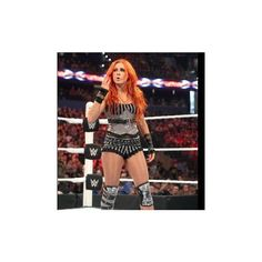Becky Lynch vs. Alicia Fox Beat the Clock Challenge photos ❤ liked on Polyvore featuring home, home decor, clocks, photo clock and fox home decor