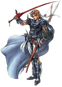 Firion - Characters & Art - Dissidia: Final Fantasy