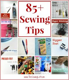 85+ Sewing Tips and Growing by The Sewing Loft