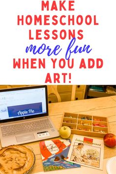 Here is a simple step-by-step example of how you can add art to any homeschool lesson! #homeschool #homeschoolart #homeschooling #artlessonsforkids