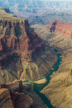 Colorado and Little Colorado, Grand Canyon by Erika Wang