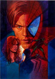 Spider-Man by Brian Stelfreeze  More @ https://pinterest.com/ingestorm/comic-art-spiderman-friends & http://groups.google.com/group/Comics-Strips & http://groups.google.com/group/ComicsStrips & http://groups.yahoo.com/group/ComicsStrips &  http://www.facebook.com/ComicsFantasy & http://www.facebook.com/groups/ArtandStuff
