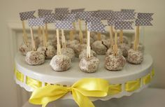 Grey and Yellow baby shower!!!