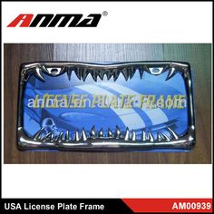 Stainless Steel decorative license plate frames