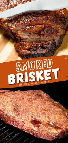 The ultimate recipe on your Traeger! Learn all the tips on how to smoke a brisket. While it takes time and patience, it is always worth the time and effort because you can have a spring main dish idea for dinner that is moist, tender, juicy, and flavorful! Save this pin! Easy Main Dish Recipes, Easy Homemade Recipes, Top Recipes, Yummy Recipes, Dinner Recipes, Summer Grilling Recipes, Spring Recipes, Easter Recipes, Easy Family Meals