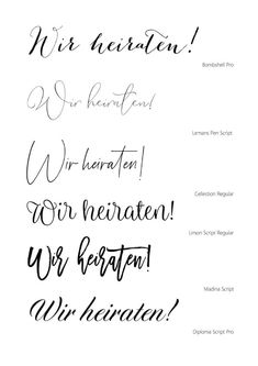 Wedding Cards, Diy Wedding, Wedding Invitations, Wedding Fonts, Wedding Favors, Engagement Ring Cuts, Tattoo Fonts, Hand Lettering, Wedding Planner