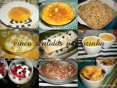 Cinco sentidos na cozinha: Sobremesas- 36 sugestões para a mesa de Natal