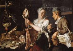 Kitchen Scene, 1620s, Peter Wtewael (Dutch), Oil on canvas (06.288)
