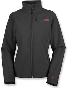 The North Face Pink Ribbon Apex Bionic Soft-Shell Jacket