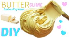 DIY CUTE LIFE HACKS BUTTER SLIME RECIPE with Cornstarch!!! How to make T...