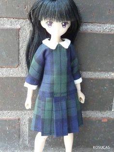 Dress for Azone and Ruruko dolls body pure neemo XS.
