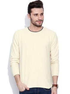 Dream of Glory Inc. Cream-Coloured T-shirt