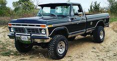 Old Ford Trucks, Old Pickup Trucks, 4x4 Trucks, Diesel Trucks, Mudding Trucks, Old Ford Pickups, Farm Trucks, Ford 4x4, Best Pickup Truck