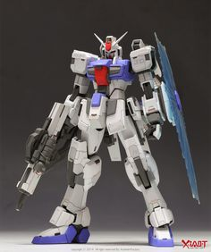 GUNDAM GUY: 1/100 Gundam F95 JD [Conversion Kit] - Customized Build