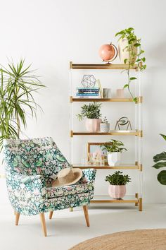 Liberty for Anthropologie Strawberry Thief Rivona Chair