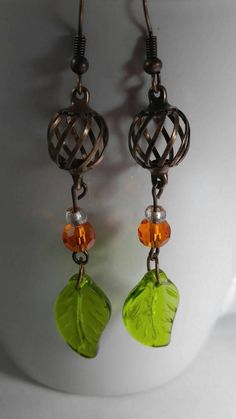 Check out this item in my Etsy shop https://www.etsy.com/listing/544524593/pumpkin-inspired-earrings