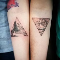 """69 Adorable Couples' Tattoos That'll Make You Weak in the Knees """"Paare, die Pizza Tattoo zusammen haben, bleiben zusammen. Pizza Tattoo, Form Tattoo, Shape Tattoo, Best Couple Tattoos, Tattoos For Guys, Tattoos For Couples, Mother Nature Tattoos, Tattoo Nature, Natur Tattoos"""