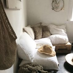 Designer Bedding Sets On Sale Code: 8413458100 Wabi Sabi, Cozy Bedroom, White Decor, Luxurious Bedrooms, Inspired Homes, Interiores Design, Home And Living, Bedding Sets, Living Spaces