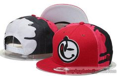 YUMS Snapback Hats Adjustable Caps Red Pink 251