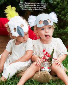 Koala and cockatoo Australia Day masks for the kids to make. Animal Crafts For Kids, Fun Crafts For Kids, Craft Activities For Kids, Australian Party, Australian Animals, Australia Day Celebrations, Australia Crafts, Animal Birthday, 7th Birthday