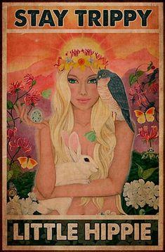 Happy Hippie, Hippie Life, Hippie Art, Book Art, Psychedelic Art, Trippy, Fantasy Art, Art Drawings, Illustration Art