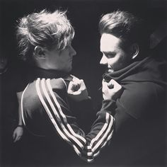 lilo trying to look so tough when in reality they're just fluffy babies