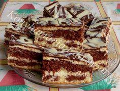 Érdekel a receptje? Kattints a képre! Hungarian Recipes, Tiramisu, Menu, Cooking Recipes, Sweets, Snacks, Cookies, Baking, Cake