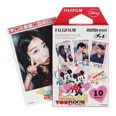 Find More Film Information about Genuine Fujifilm Fuji Instax Mini 8 Film Mickey Photo Paper 10 Sheets For 8 50s 7s 90 25 SP 1 Mini Instant Cameras Free Shipping,High Quality sheet of glass price,China sheet metal drill bit Suppliers, Cheap sheet pvc from Photography store on Aliexpress.com