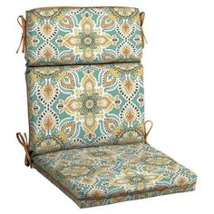 Patio Cushion Ideas - Decorative H&ton Bay Montigo Welted Outdoor Dining Chair Cushion - The Home  sc 1 st  Pinterest & 94 best Patio Cushions images on Pinterest | Cushion ideas Ikat and ...