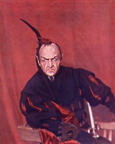 Фёдор Шаляпин в образе Мефистофеля. 1915 / Фото дня / Моя Планета