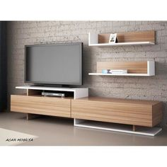 Tv Unit Interior Design, Tv Unit Furniture Design, Tv Furniture, Tv Wall Design, Tv Unit Decor, Tv Wall Decor, Tv Wanddekor, Modern Tv Wall Units, Modern Tv Room