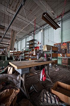 Children's Clothing Factory - Matthew Christopher Murray's Abandoned America