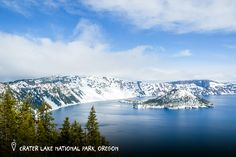 Crater Lake National Park   The deepest lake in the U.S. can be found at Crater Lake National Park. At its deepest point, the lake is 1,943 feet — the equivalent of six Statues of Liberty stacked on top of one another.