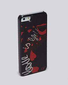 DIANE von FURSTENBERG iPhone 5/5s Case - Love Is Life Hologram