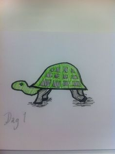 #Day 1 - limping turtle